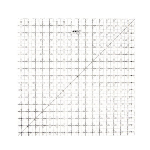Olfa 16 1/2″ Square Frosted Acrylic Ruler (QR-16S)