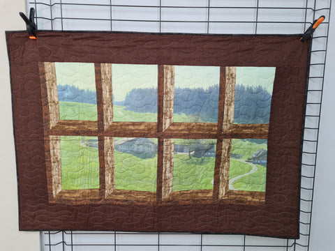 Attic Window, A Look At The Country