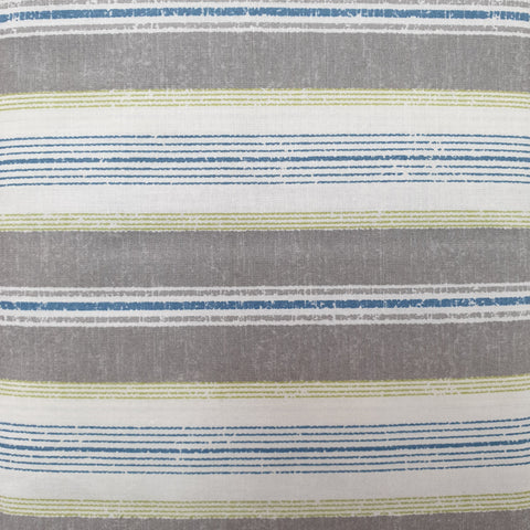 Grey, Blue and Green Combination Stripe - Live Life Collection