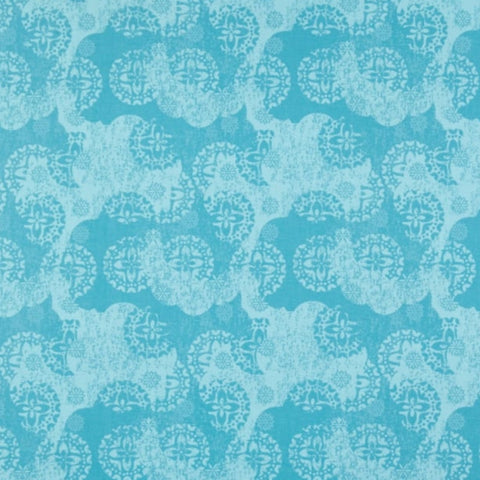 Turquoise Tonal Medallion - Siena Collection