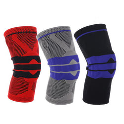 Nylon Silicone Knee Sleeve - Perfect Sports Protection - Jumpers Knee