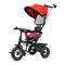R for Rabbit Tiny Toes Sportz Tri-Cycle - Red Black - Baby Shop India