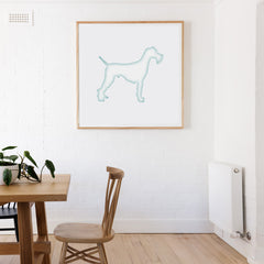 CraftStar Large Schnauzer Dog Stencil