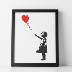 CraftStar Banksy Balloon Girl Stencil