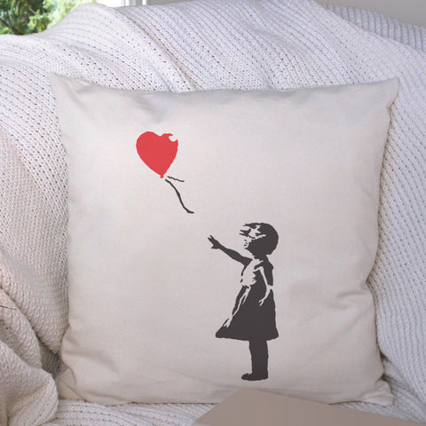 CraftStar Banksy Balloon Girl Stencil on Fabric