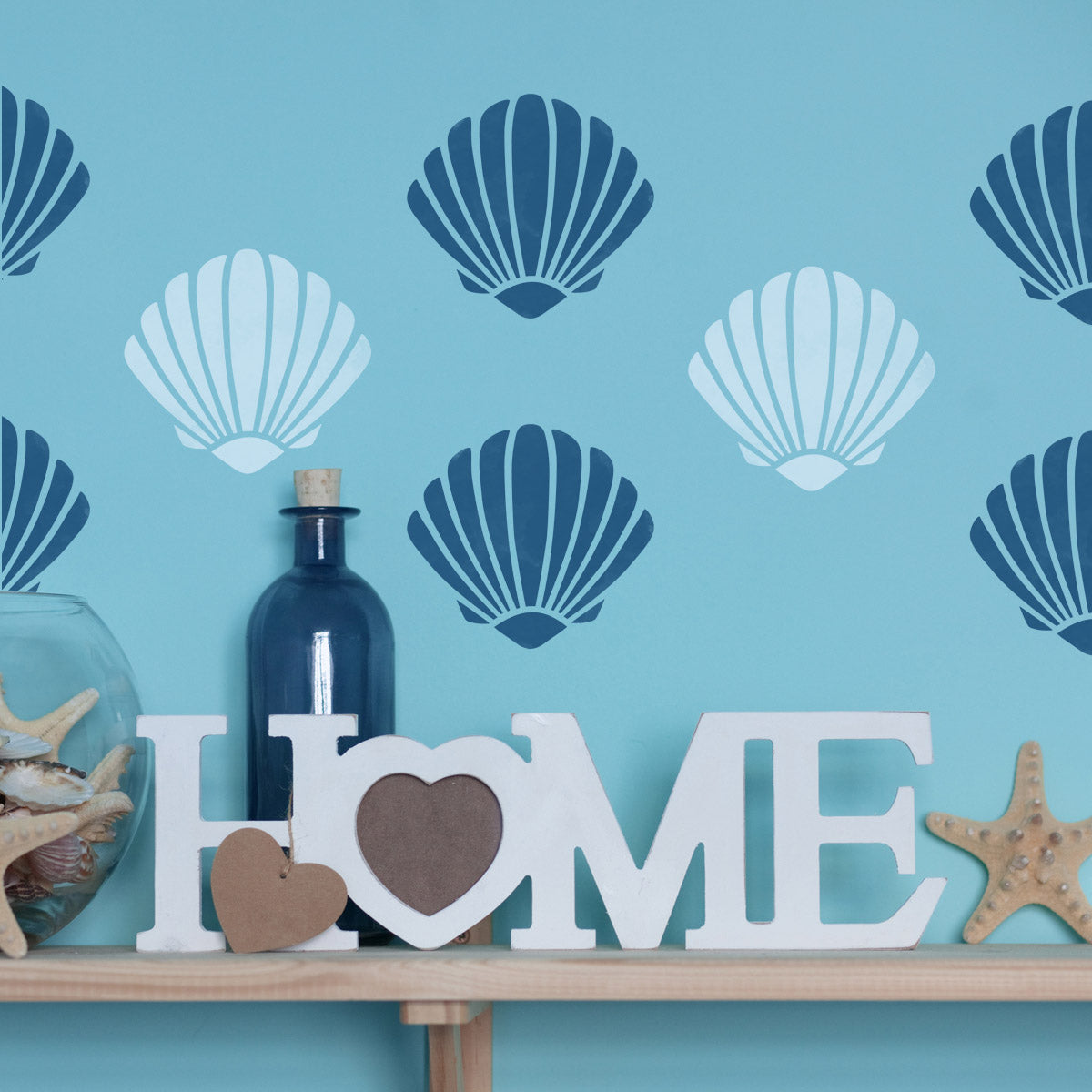 CraftStar Scallop Shell Stencil