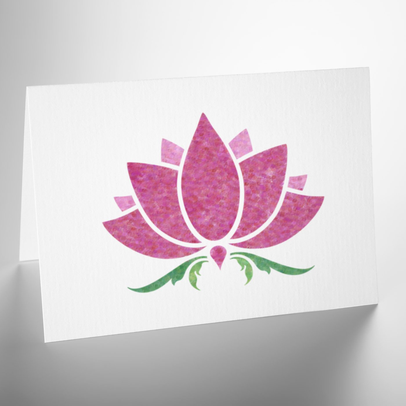 Lotus Flower Stencil Craft Template Craftstar