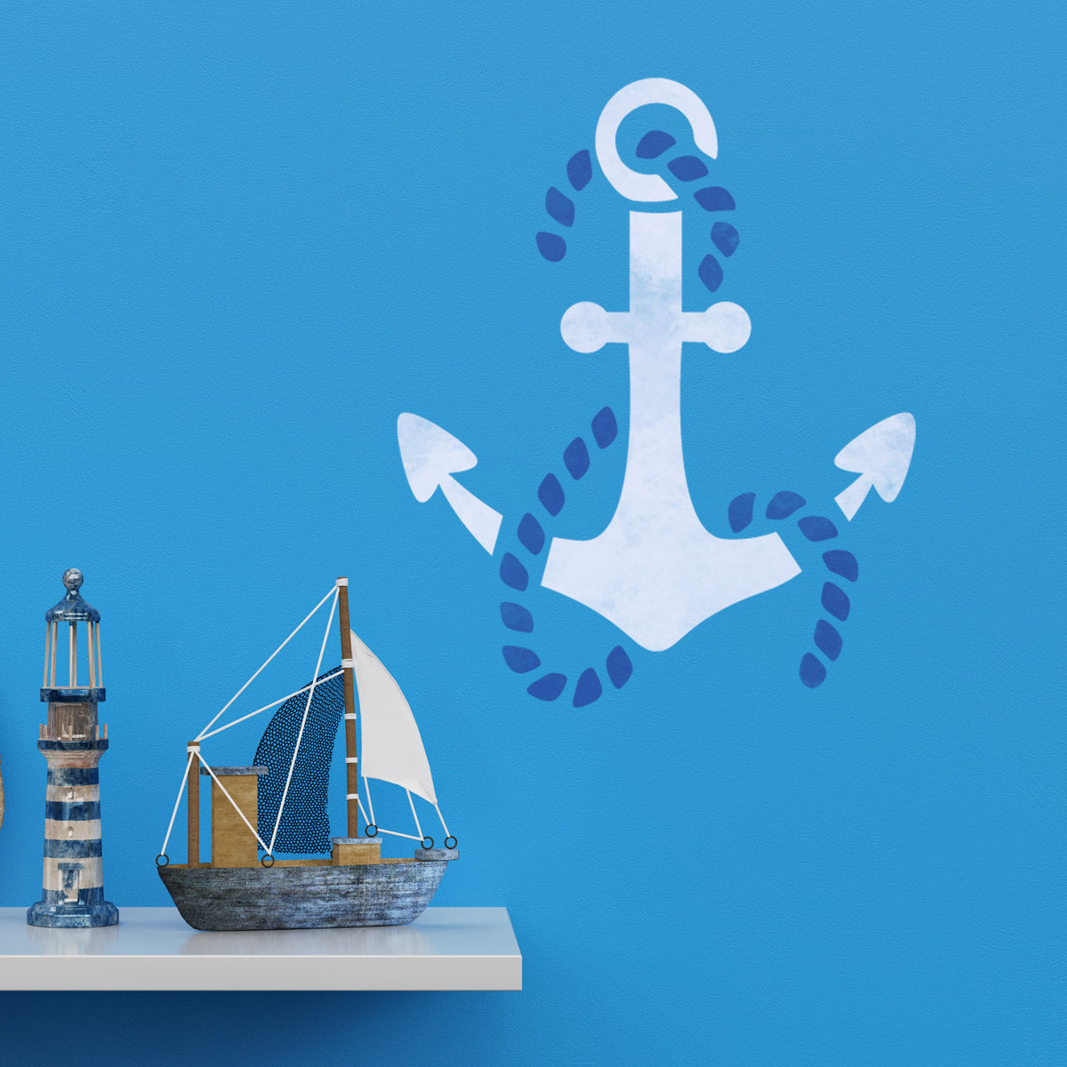 CraftStar Anchor Wall Stencil