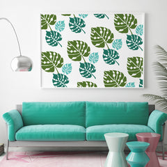 CraftStar Large Monstera Leaf Stencil Set