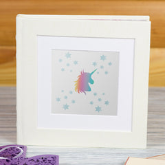 CraftStar Unicorn and Stars Stencil