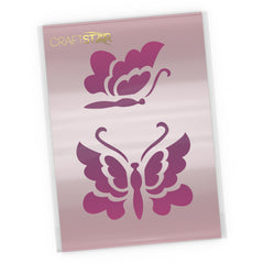 Butterflies Stencil - Butterfly Craft Template