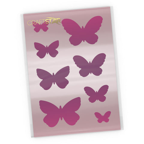 Butterfly Stencil Set - Butterflies Craft Templates