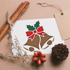 CraftStar Christmas Bells Stencil