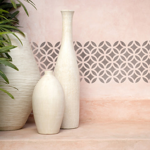 CraftStar Moorish Pattern Border Stencil
