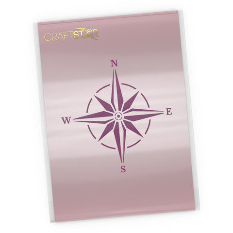 Compass Rose Stencil - Craft Template