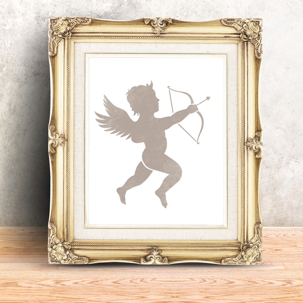 CraftStar Cupid Stencil in a Frame