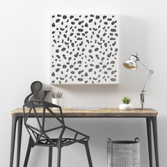 CraftStar Dalmatian Spots Pattern Stencil on Canvas