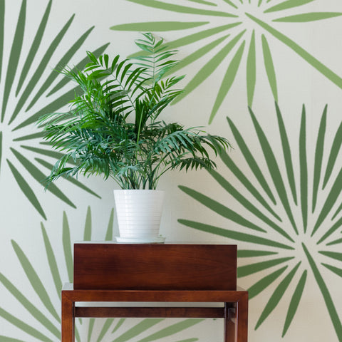 CraftStar Fan Palm Leaf Stencil