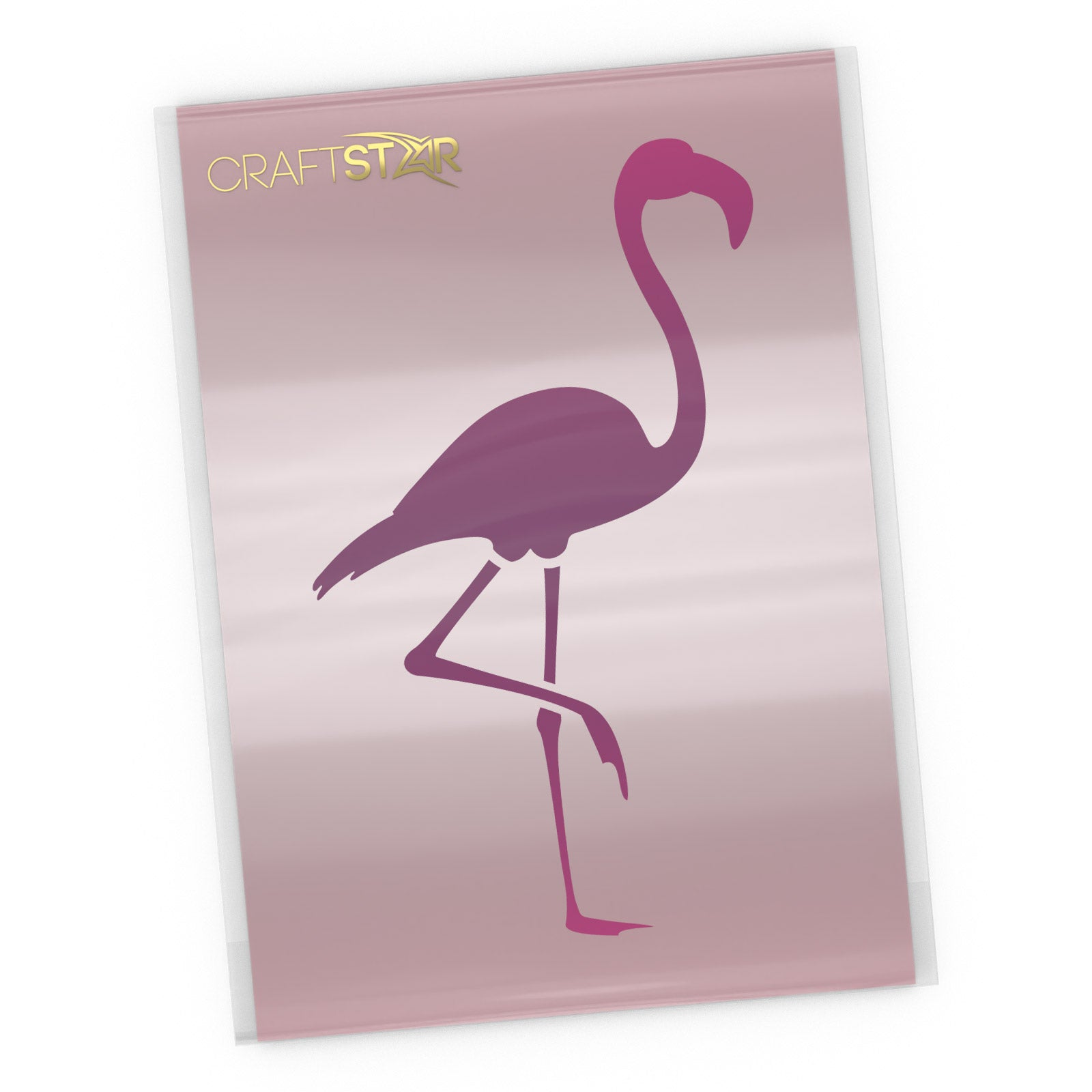 Flamingo Stencil - Craft Template