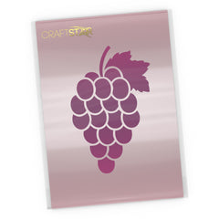 Bunch of Grapes Stencil - Craft Template