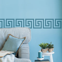 CraftStar Greek Key Border Stencil