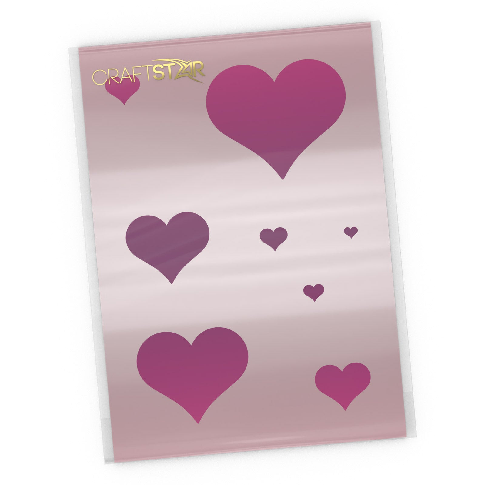 Hearts Stencil Set - Craft Template