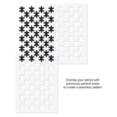 CraftStar Jigsaw Stencil Use Guide