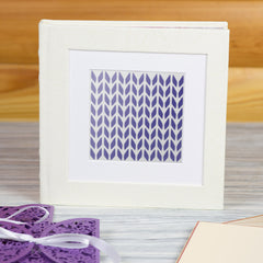 CraftStar Knitting Background Pattern Stencil