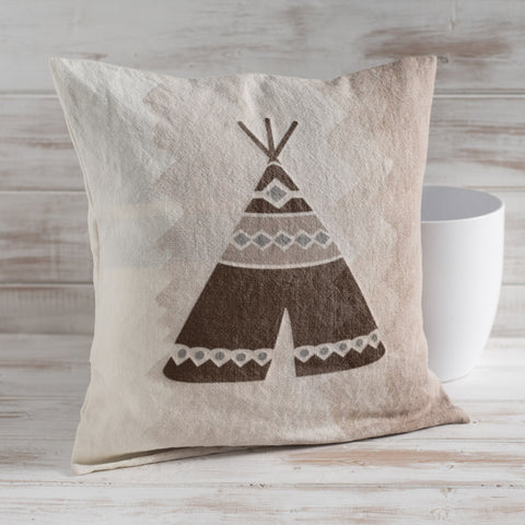 Craftstar Teepee Stencil on Fabric