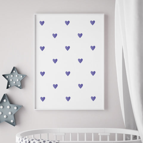 CraftStar Heart Polka Dot Wall Stencil