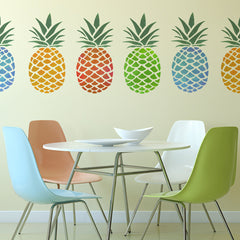 CraftStar Large Pineapple Stencil in different colours