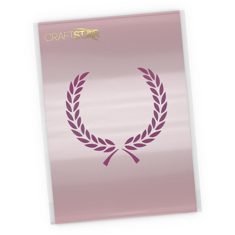 Laurel Wreath Stencil - Craft Template