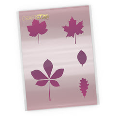 Leaf Stencil Set - Craft Templates
