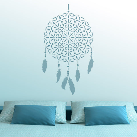 CraftStar Mandala Dreamcatcher Wall Stencil