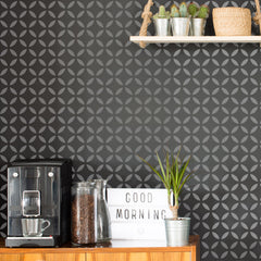 CraftStar Moroccan Lattice Stencil on wall