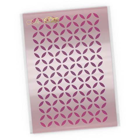 Moorish Pattern Stencil - Seamless Lattice Pattern - Craft Template