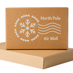 CraftStar North Pole Postmark Stencil - White On Box