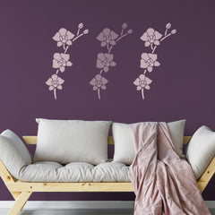 CraftStar Large Orchid Flower Stencil