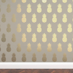 CraftStar Pineapple Repeating Pattern Stencil in gold