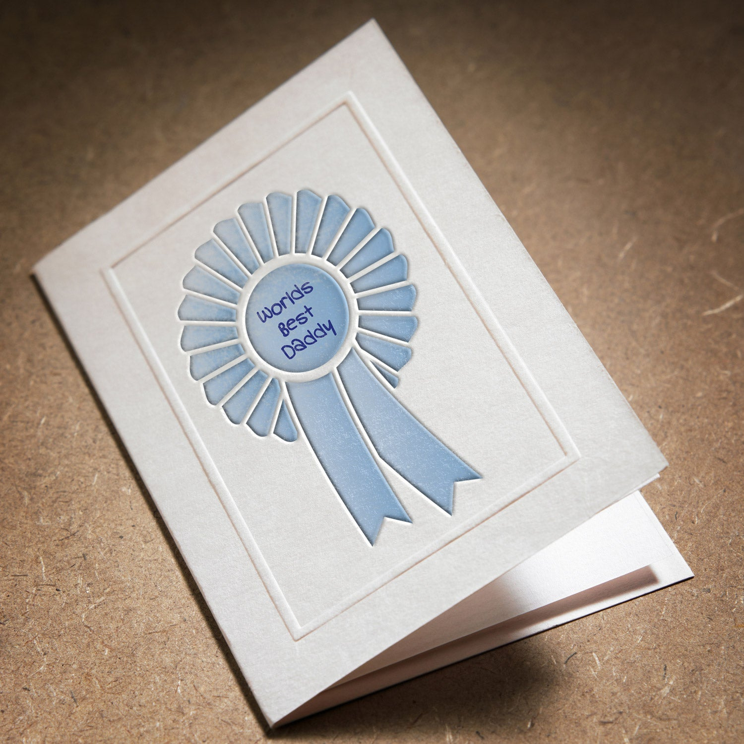 CraftStar Rosette Stencil on card