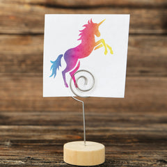 CraftStar Prancing Unicorn Stencil on Paper