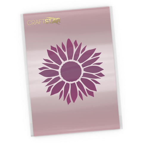 Sunflower Stencil - Craft Template