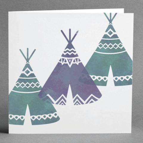 Craftstar Teepee Stencil Set on card