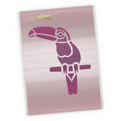 Toucan Stencil - Craft Template