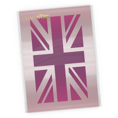 Union Jack Stencil - Craft Template
