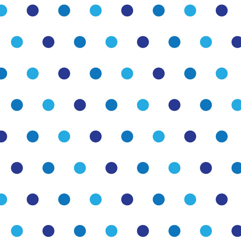 CraftStar Small Polka Dot Wall Stencil Close up