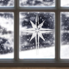 CraftStar Christmas Star Stencil Window Decoration