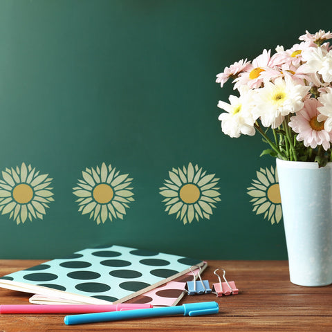 CraftStar Sunflower Stencil