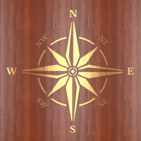 CraftStar Compass Rose Stencil
