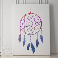 CraftStar Dreamcatcher Stencil on Canvas